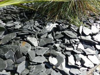 CLASSGARDEN - paillage d'ardoises noir - pack pour 7 m² calibre - Mulchgewebe