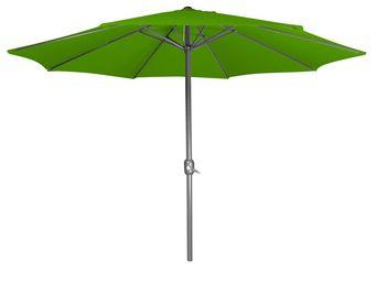 CEMONJARDIN - parasol droit vert - Ausziehbarer Sonnenschirm