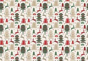 Tassotti - decori invernali - Geschenkpapier