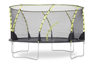 Plum - trampoline avec filet innovant 3g whirlwind 426 cm - Trampolin