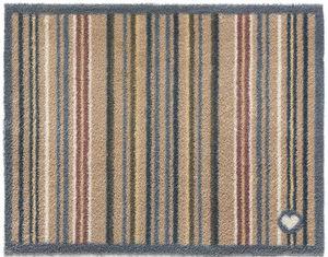 HUG RUG - tapis en fibres naturelles à rayures 65x150 cm - Fussmatte