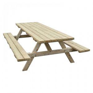 BAMBOO IMPORT -  - Picknick Tisch