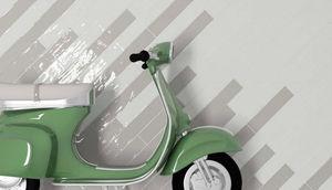 CasaLux Home Design - crafted handmade grey 15x7,5cm - Wandfliese