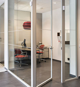 HOYEZ - h5 transparence - Büro Zwischenwand