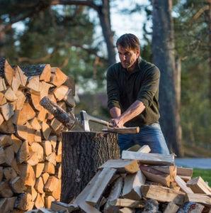 Holzfäller-Axt
