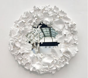 LOUISE FRYDMAN - coeur d'automne - Skulptur