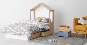 MADE -  - Kinder Schubladen Bett
