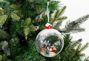 Flamant - shige - Weihnachtskugel