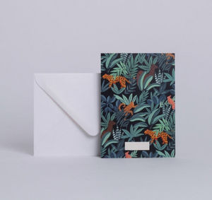 SEASON PAPER COLLECTION - animalia - Korrespondenzkarte
