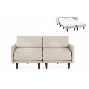 Likoolis - pacduo80l-grcrema - Schlafcouch
