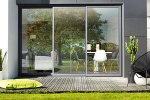 K-LINE - 3 rails - Schiebeglasfensterfront