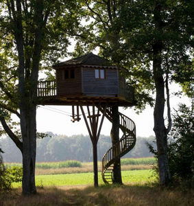 La Cabane Perchee - grand ecart - Baumhaus