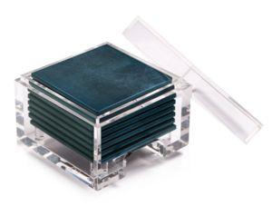 POSH - matte blue - Glasuntersetzer