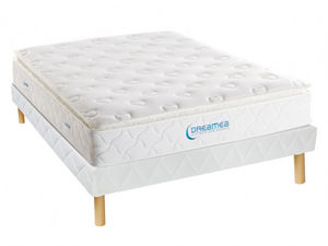 DREAMEA - ensemble matelas + sommier american dream - Bettwäsche