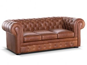 Vente-Unique.com - canapé londres - Chesterfield Sofa
