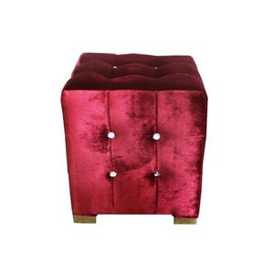 DECO PRIVE - pouf carré - Crapaud Sessel