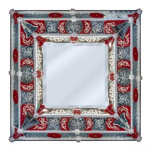 B.F SIGNORETTI MURANO GLASS -  - Venezianischer Spiegel