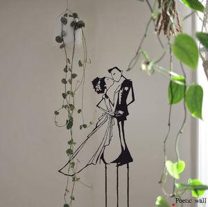 POETIC WALL - l'amour en équilibre - Sticker