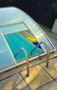 Schwimmbadleiter