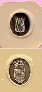QUENTIN ANDRE -  - Wappen Kupferstich