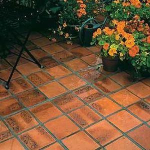 Pacema (gpe Terca Briques) - terre de rose - Bodenplatten Außenbereich