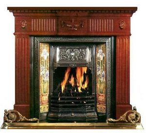 The Edwardian Fireplace -  - Offener Kamin