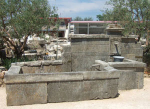 LES MEMOIRES D' ADRIEN - fontaine ancienne murale - Wandbrunnen