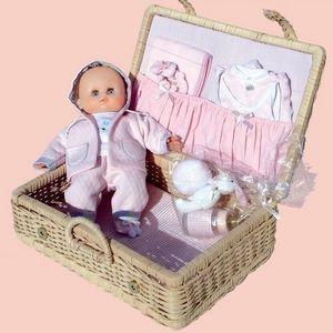 Petitcollin - petit câlin 28cm mon petit lapin - Puppenkoffer