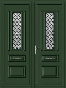 Aluporta -  - Doppelte Eingangstür