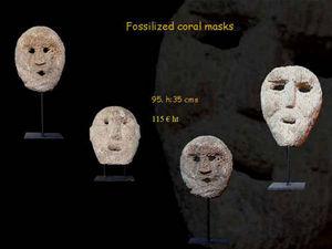 Timor - ethnique - Maske