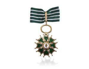 Arthus Bertrand - arts et lettres - Militärmedaille