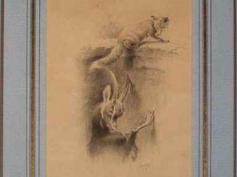 Air de Chasse -  - Bleistiftzeichnung