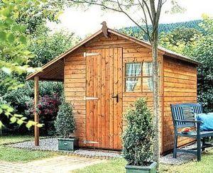 Go Bois Girard Ouvrages Bois -   - Holz Gartenhaus