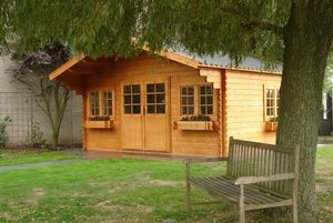 Casa Chalet - tradition - Holz Gartenhaus
