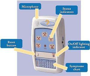 Hp Group - détecteur cri enfant - Babyphon