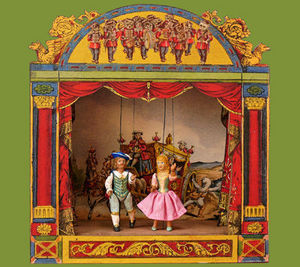 Sartoni Danilo Ravenna Italy - music box - Marionettentheater