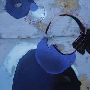 FILEE DOMINIQUE - DIF - reve de miel - Abstrakt Gemälde