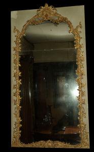 Philippe Vichot - miroir de boiserie louis xv - Spiegel