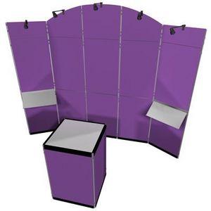 Clip - le kit maxi de-luxe - Faltbarer Ausstellungsstand