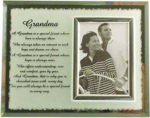 Mayflower Glass Ltd. - reflection frame - grandma - Fotorahmen
