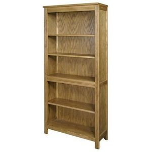 Wood Bros (furniture) - bookcase (wide) - Bibliothek