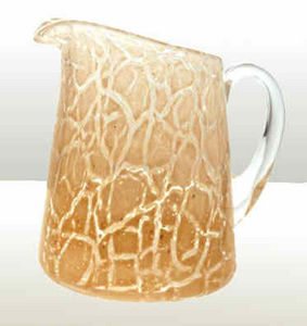 Potter Morgan Glass - lava jug - Krug