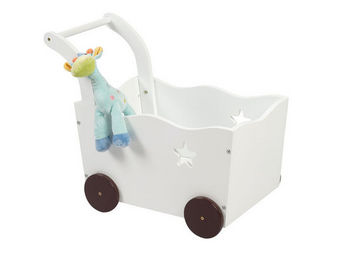 Miliboo - etoile coffre jouets chariot - Spielzeugkiste
