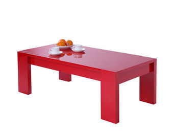 Miliboo - lilou table basse - Rechteckiger Couchtisch