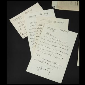 Expertissim - maréchal lyautey : lettres autographes - Manuskript