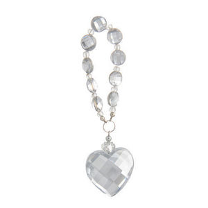 MAISONS DU MONDE - pendant perles et coeur - Anhänger