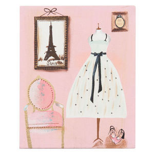 MAISONS DU MONDE - toile dressing couture - Dekobilder