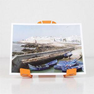 Fenel & Arno - porte photo a-3-pat orange - Fotohalter
