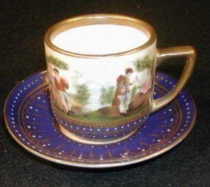 Demeure et Jardin - tasse à moka saint cloud - Kaffeetasse