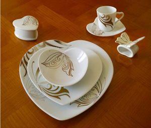 PORCELAINE CLAUDIE FRANEL -  - Frühstücksschale
